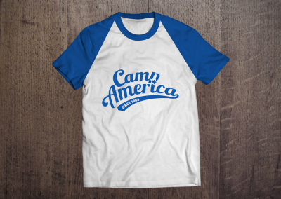Camp America t-shirt design